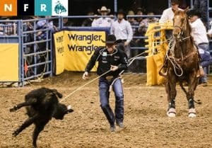 NFR Live Tie-Down Roping