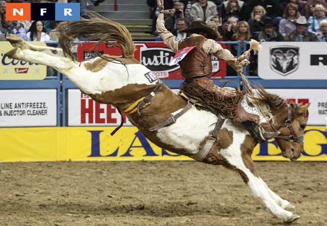 NFR Saddle Bronc Riding